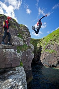 Thrill: one of the activities Mór Active offers