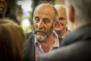 Danny Healy-Rae at the count in Killarney this afternoon.