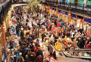 Some of the huge crowd that attended last year's festive fair at Killarney Outlet Cemntre