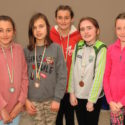 Young athletes show their prowess