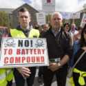 Residents stage protest at final council meeting