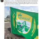 'Let's get the flags and colours up'